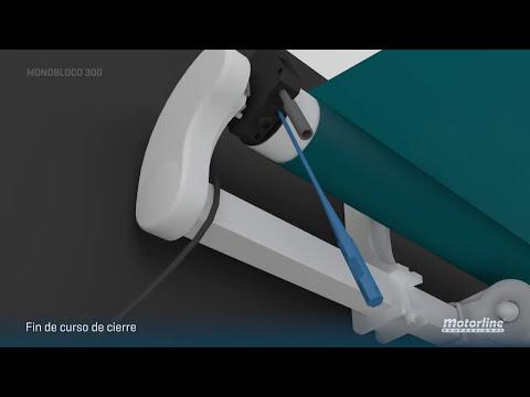Cómo instalar toldo automático MONOBLOCO 300