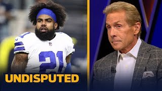 Skip Bayless reacts to Jerry Jones' 'Zeke who?' remarks after Tony Pollard shines | NFL | UNDISPUTED