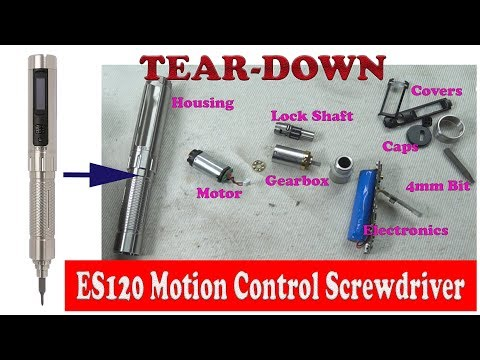 Whats inside Motion control Screwdriver ES120