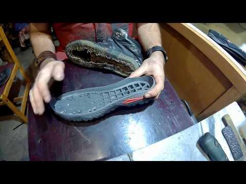 Легко и просто меняем подошву обуви в домашних условиях