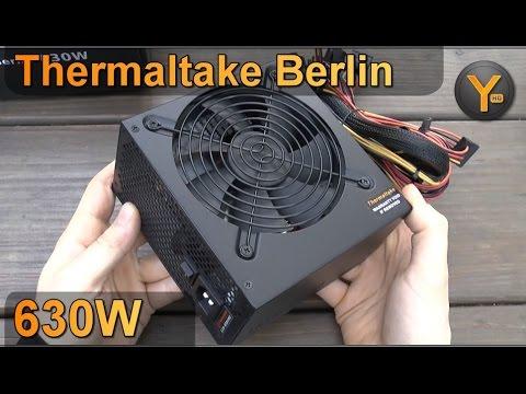 Unboxing/First Look: Thermaltake Berlin 630W ATX Netzteil / Power Supply 630 Watt