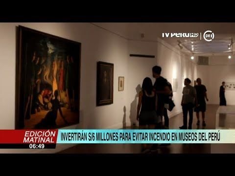 Ministerio de Cultura invertira 6 millones de soles en conservacion y seguridad de museos