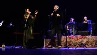 Franco Battiato e  Sakina Al Azami Diwan Ancona 08 12 2013 Fogh in Nakhal