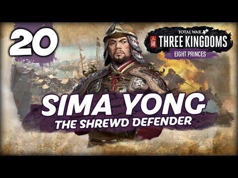 THE VICTORIOUS PRINCE! Total War: Three Kingdoms - 8 Princes - Sima Yong - Romance Campaign #20