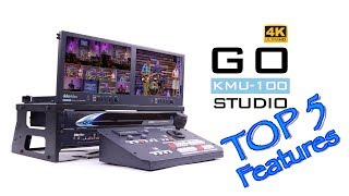 【Official】Top 5 Features of Go KMU-100 Studio Portable Video Production