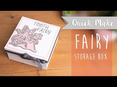 Tooth Fairy Box- Sizzix