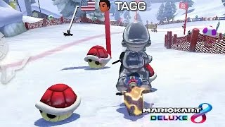 Mario Kart 8 Deluxe - Hey. It's the Red Turtle Shells Again...FROM KYLE!!! [Nintendo Switch]