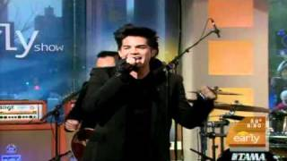 Adam Lambert Music Again (Live The Early Show)