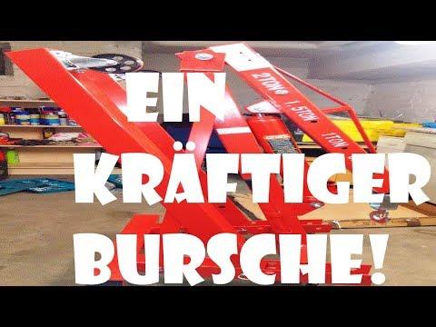 2T Motorkran/ Werkstattkran  - Ein kräftiger Bursche!