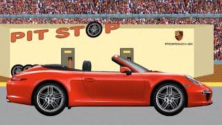 Собираем пазл. Кабриолет Porsche 911 Carrera