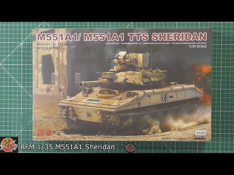 Rye Field Model M551A1// A1TTS SHERIDAN in 1:35 NEUHEIT