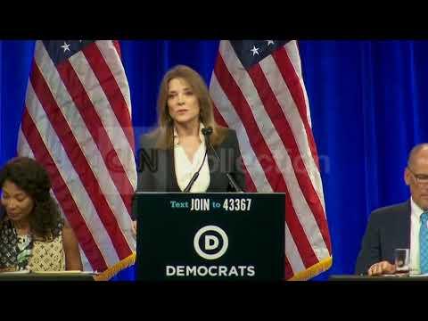 Marianne Williamson speaks at DNC candidate forum