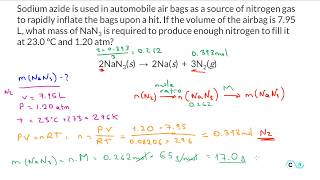 Gas Stoichiometry: Practice Problem 2