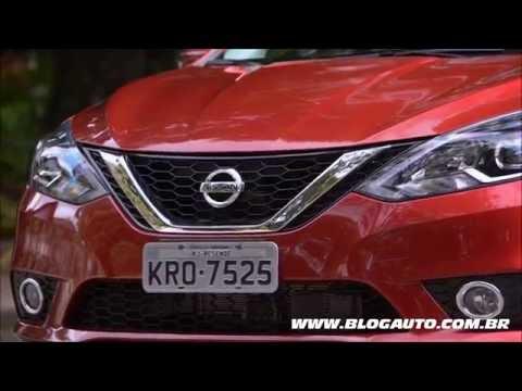 Conheça todo o sedã Nissan Sentra SL 2017 - BlogAuto