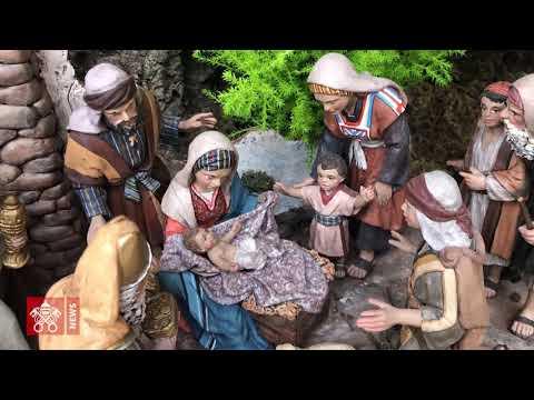 Рождественские ясли Ватикана