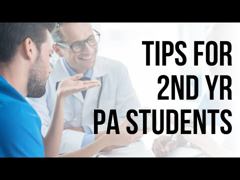 Tips for 2nd year PA School - Danielle, 2nd year PA School