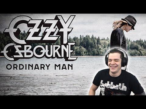 Swedish dude REACTS to OZZY OSBOURNE - ORDINARY MAN (AUDIO) FT. ELTON JOHN
