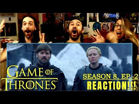 """GAME OF THRONES Season 8 Episode 2 - REACTION!!! """"A Knight Of The Seven Kingdoms"""""""