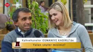 Kadirli Kahvehaneler Programı - TRT HABER (1. Bölüm)