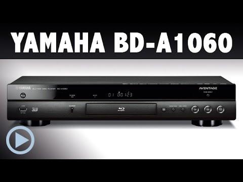 Yamaha BD-A1060 AVENTAGE Blu-ray-Player im Test