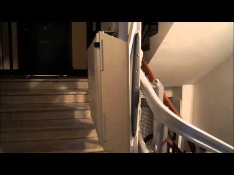 Plataforma inclinada salva escaleras discapacitados Ingesea Movilidad 1 www.ingesea.es