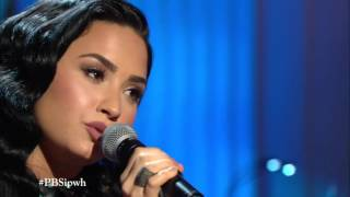 """Demi Lovato performing """"You Don't Know Me"""" at the Ray Charles Tribute - 02/24/16"""