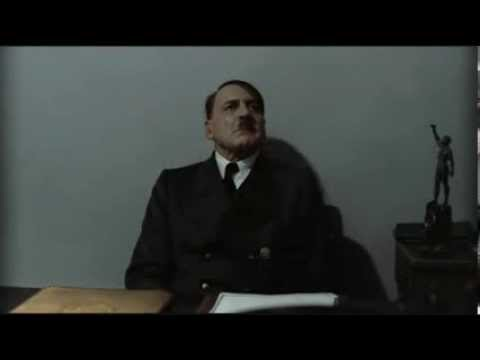 hitler is informed fergelein missed the hole