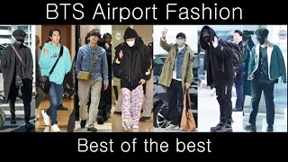 BTS Airport Fashion Ranking 2020   Who Is The Most Stylish?