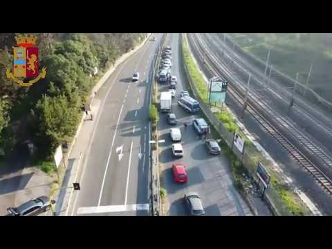 Preview video Questura di Roma: controlli della Polizia di Stato