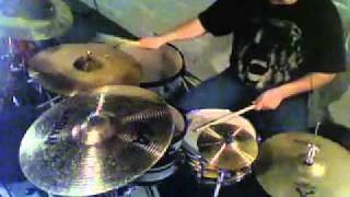Dog Fashion Disco - Love Song for a Witch (Drum cover)