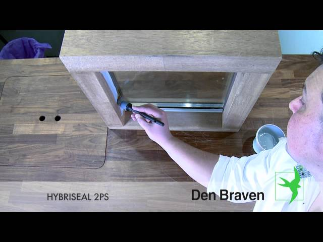 instructievideo Den Braven Hybriseal 2ps 600ml