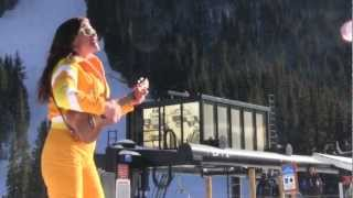 Some TBT fun when Krysty Bosse busted the John Denver magic at Loveland Ski Area