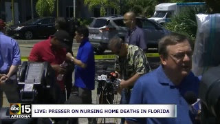 LIVE: 6 DEAD! Officials give update on Hurricane Irma nursing home fatalities