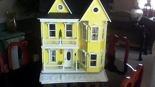 Doll House Tour Of The Doll House I Made