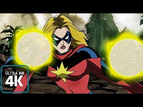 Captain Marvel: All Powers from the show (Animated)