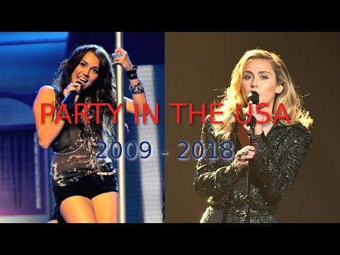 Miley Cyrus - Party in the USA [Evolution: 2009 - 2018]