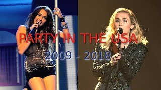 Miley Cyrus   Party In The USA [Evolution: 2009   2018]