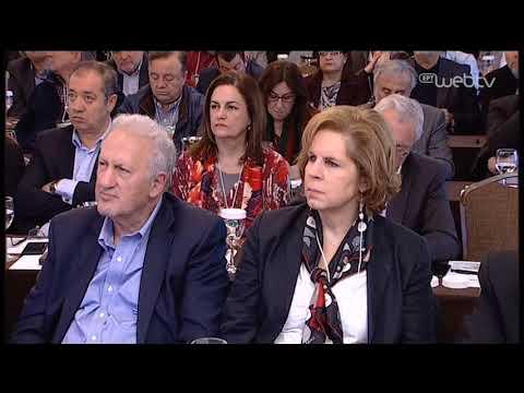Ομιλία Φ. Γεννηματά στη συνεδρίαση της Κεντρικής Πολιτικής Επιτροπής του ΚΙΝ.ΑΛ. | 20/4/2019 | ΕΡΤ