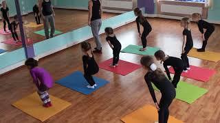 "Студия танца ""Crystal Dance"", открытый урок ""Гимнастика "" 2"