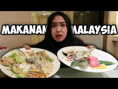 PERTAMA KALI COBAIN MAKANAN DI MALAYSIA. KOK GINI??