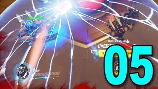 Overwatch - Part 5 - 4 MAN WINSTON SQUAD!