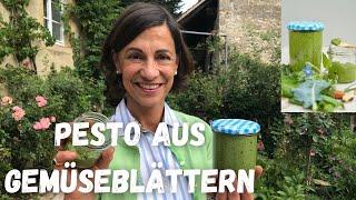 Tschüss Lebensmittel-Verschwendung! | Resteverwertung Rezept | Pesto  - mit Dagmar von Cramm
