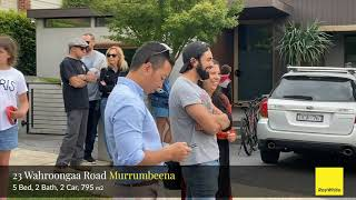 Auction Highlights - 23 Wahroongaa Road, Murrumbeena