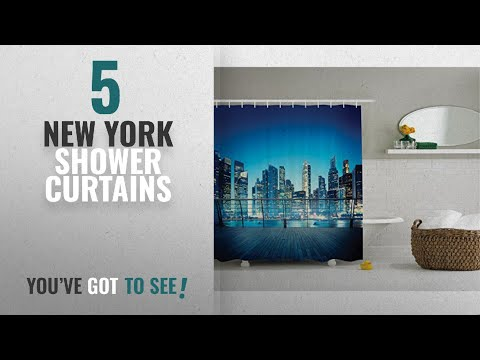 New York Skyline Shower Curtain Product Video