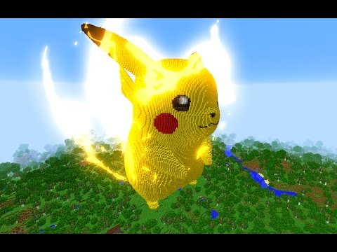 MINECRAFT vs POKEMON GO : GIGA PIKACHU VS REZENDE !!!
