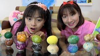 Trò Chơi Ăn Trứng Nhiều Màu Sắc ❤ BIBI TV ❤
