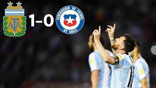 Arjantin 1-0 Şili | Maç Özeti | 2018 Dünya Kupası Elemeleri | 24/03/2017 • HD