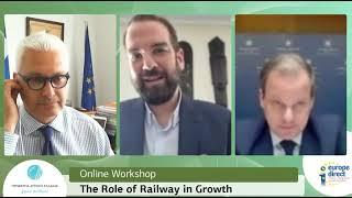 Ομιλία Ν. Φαρμάκη στο workshop για το μέλλον των σιδηροδρόμων