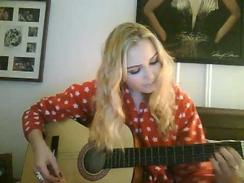 Learning to Play Guitar! Basic Guitar Chords. Me in my onesie!!