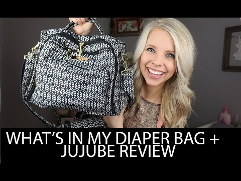 WHAT'S IN MY DIAPER BAG & JUJUBE REVIEW
